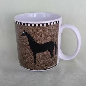 Other - Black Horse Coffee Mug Warren Kimble